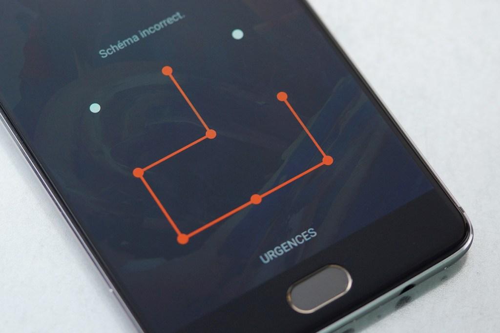 protection par schéma de votre téléphone portable