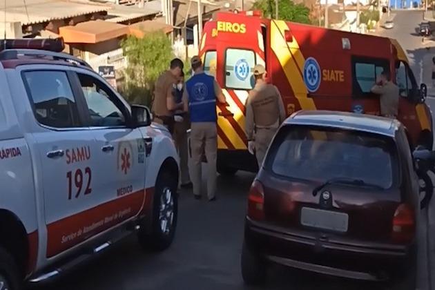 Vídeo | Jovem fica gravemente ferido ao ser baleado no Ouro Verde