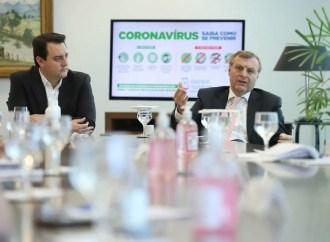 Governo e médicos paranaenses alinham estratégia de combate ao Coronavírus