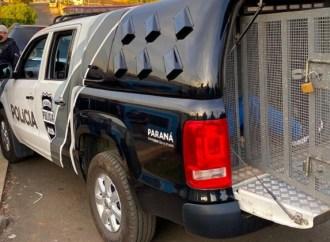 Polícia Civil cumpre mandados de busca e apreensão de grupo responsável por roubo em Imbituva