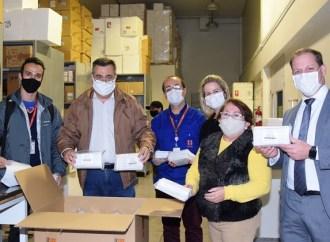 Estado segue recebendo doações de empresas para o enfrentamento do Coronavírus