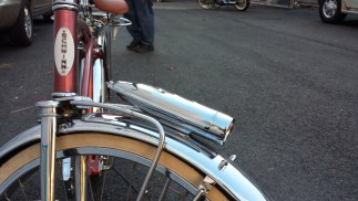 Brown Schwinn detail 1