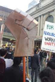 Solidarity fist