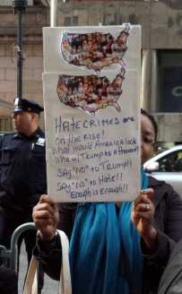 Hate crimes are on the rise!