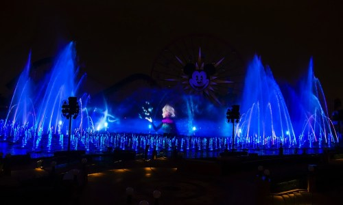 World of Color – Winter Dreams (c)Disney