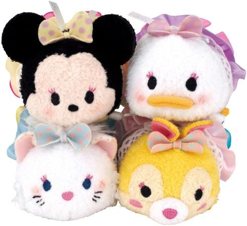 ルクア大阪店限定TSUM TSUMセット(ミニー/デイジー/マリー/ミス・バニー)2500円(税抜) (c)Disney