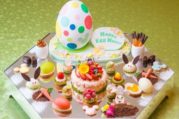東京ディズニーランドホテル宴会プランのケーキ (c)Disney