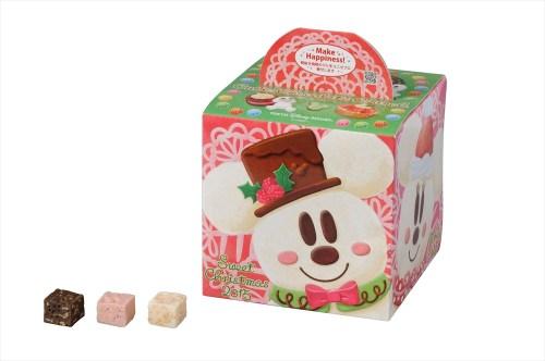 キュービックチョコレートクランチ(東京ディズニーランド・東京ディズニーシー共通) (c)Disney