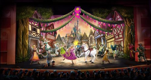 """In November 2015, """"Tangled: The Musical"""" will premiere aboard the Disney Magic (c)Disney"""