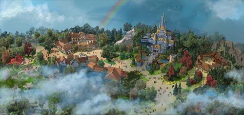 ファンタジーランド新エリアの全景   (c)Disney