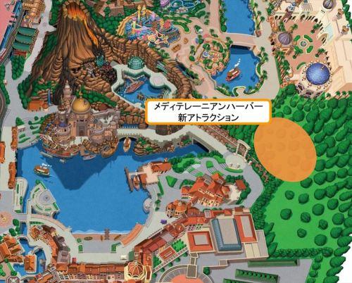 開発エリア(東京ディズニーシー) (c)Disney