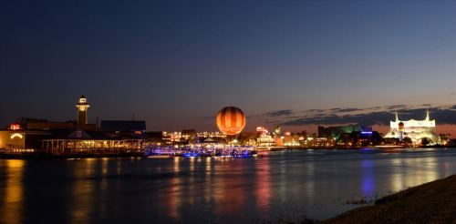 Disney Springs is an exciting, new waterfront district for world-class shopping, unique dining, and high-quality entertainment at Walt Disney World Resort.  (c)Disney