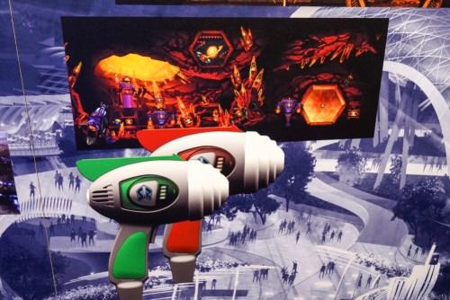 Buzz Lightyear Planet Rescueの光線銃イメージ