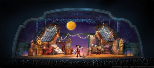 Mickey and the Magician (c)Disney