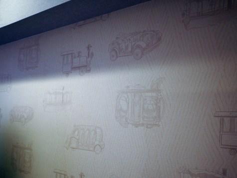 壁紙にはアトラクションのライドが