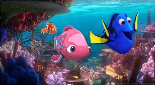 ニモ&フレンズ・シーライダー  (c)Disney/Pixar