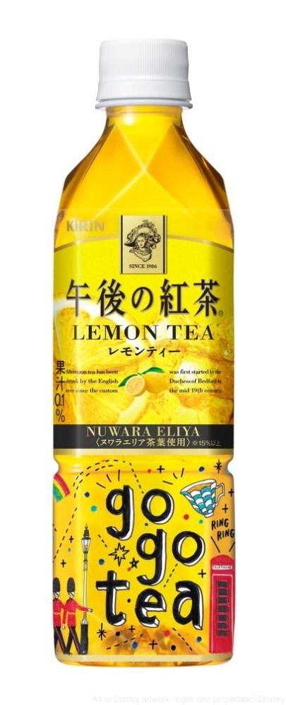 午後の紅茶 レモンティー 500ml ディズニーデザインラベル C表 (c)Disney