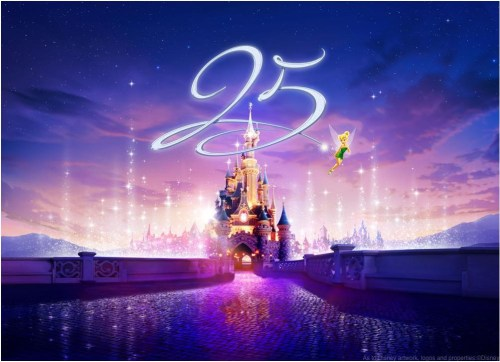 Disneyland Paris 25th Anniversary Coming in 2017 – It's Time to Sparkle (c)Disney