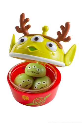 リトルグリーンまん、 スーベニアケース付き 880円 (c)Disney/Pixar