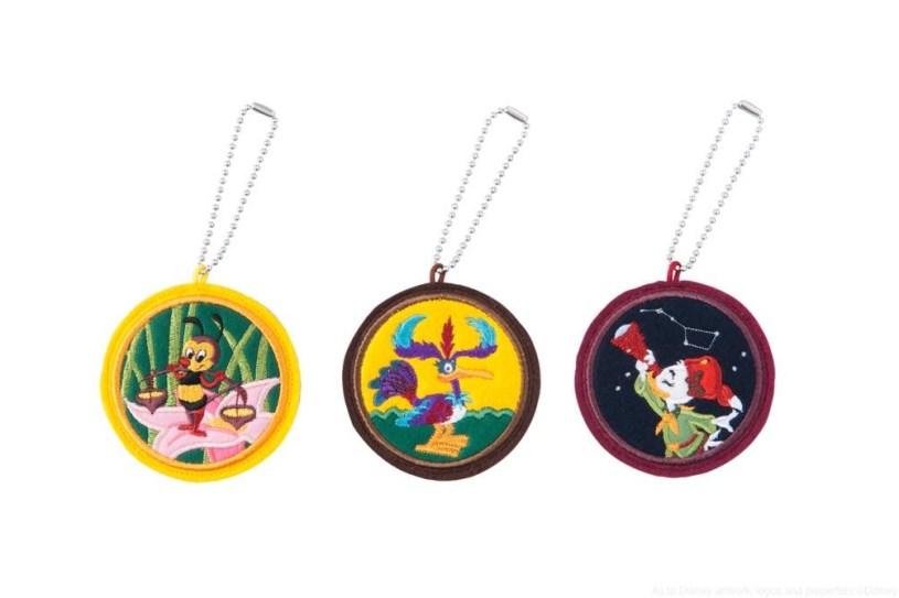 ワッペンバッジ (3 個セット)  1800円 (c)Disney
