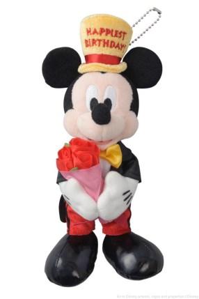 バースデーぬいぐるみバッジ 2200円  (c)Disney