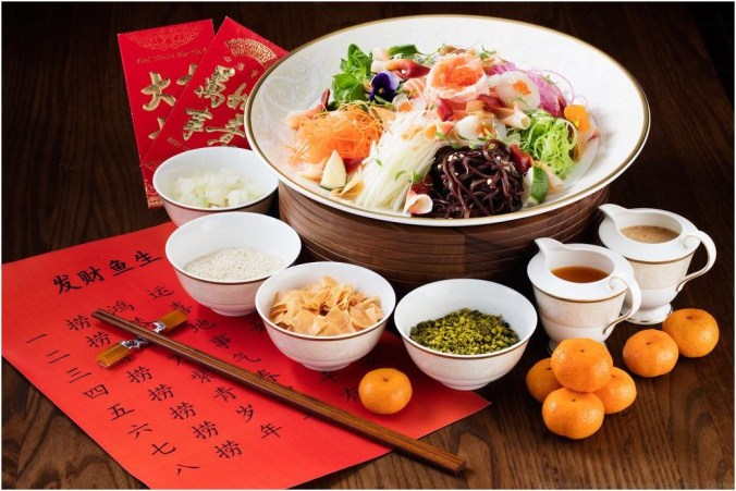 Shanghai Disney Resort develops exquisite Chinese New Year menus 2 (c)Disney