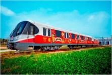 Chinese New Year Celebration Themed Metro Trains Rendering 3 (c)Disney