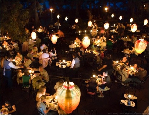 PIRATES OF THE CARIBBEAN 50TH ANNIVERSARY (March 13, 2017) Guests will experience magical dining at the Blue Bayou Restaurant as they overlook passing boats in the Pirates of the Caribbean attraction. Pirates of the Caribbean celebrates its 50th anniversary on Saturday, March 18, 2017, at Disneyland Park in Anaheim, Calif. Exciting festivities honoring its 50-year legacy begin Thursday, March 16 and include special food offerings, pirate-themed entertainment and appearances by Captain Jack Sparrow. (Paul Hiffmeyer/Disneyland)