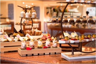 """New dessert offerings inspired by """"Beauty and the Beast"""" are added to the menu at Lumiére's Kitchen./As to Disney artwork, logos and properties:©Disney"""