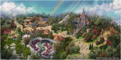 大規模開発の全景  (c)Disney