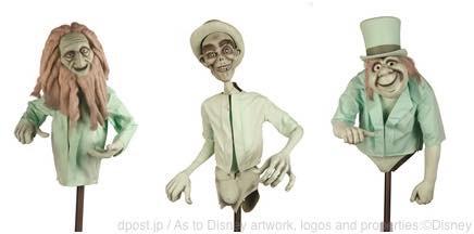 「ホーンテッド・マンション」 有名なヒッチ・ハイクする3人のゴースト (c)Disney