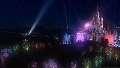「Celebrate! Tokyo Disneyland」特殊効果(動画のキャプチャ画像) (c)Disney