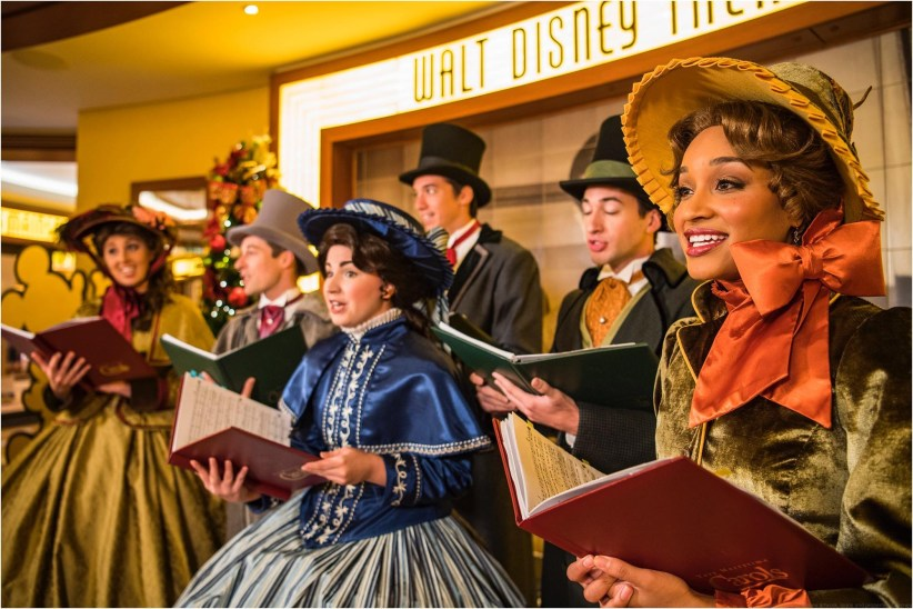 Dickens-inspired carolers carry the spirit of the holidays throughout each ship while singing holiday classics during Very Merrytime Cruises. (Matt Stroshane, photographer)