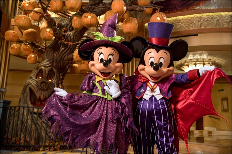 Disney Cruise Line will treat guests sailing this fall to a wickedly good time as the Disney ships transform into a ghoulish wonderland during Halloween on the High Seas cruises. For this extra-spooky celebration, each ship boasts its own signature Pumpkin Tree, which magically transforms throughout the cruise with the help of a storytelling caretaker. (Kent Phillips, photographer)