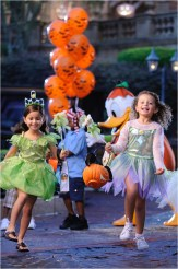 """Whether its a pirate, a princess or a pixie, kids of all ages get into the Happy Halloween spirit at Walt Disney World Resort in Lake Buena Vista, Fla. It's all part of the fun that takes place when the Magic Kingdom hosts """"Mickey's Not-So-Scary Halloween Party."""" Activities include trick-or-treating, a Halloween parade and Disney's """"Happy HalloWishes"""" fireworks show. A separate ticket is required to attend. (Kent Phillips, photographer)"""