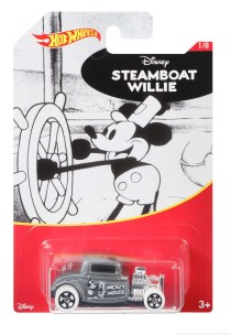 Licensee: Mattel MSRP: $1.24 Description: Hot Wheels celebrates a new partnership with Disney to create a brand new set of Mickey through the decades. With exclusive packaging and graphics of Mickey, this 8-car set will have Disney and Hot Wheels fans clamoring for more! Availability: Now Retailers: Exclusively at Walmart