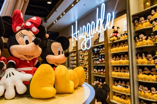 Mickey Mouse and Minnie Mouse are just two in a wide array of plush toys available inside the reimagined World of Disney at Disney Springs at Walt Disney World Resort in Lake Buena Vista, Fla. The store held an official grand reopening Oct. 27, 2018. (Matt Stroshane, photographer)