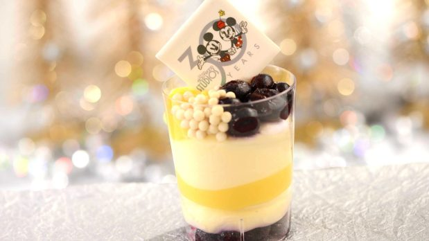Lemon Blueberry Cheesecake Verrine is offered at Catalina Eddie's at Disney's Hollywood Studios starting May 1. The 30th anniversary of Disney's Hollywood Studios celebrates new attractions, entertainment, and merchandise, plus an incredible menu of limited-time offerings as well as legacy menu items that have been offered since the park opened.