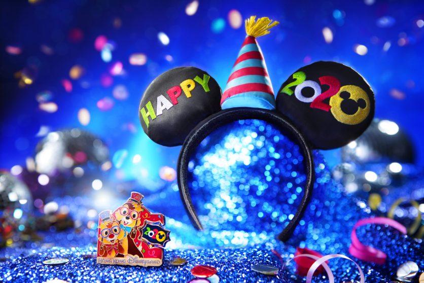 NYE Mickey Headband and Limited Edition Pin