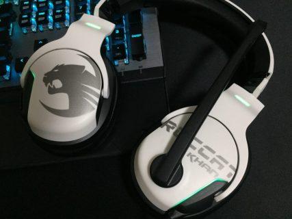 「ROCCAT Khan AIMO」レビュー。ハイレゾ対応で音響面を重視しつつも多機能、同価格帯では圧巻のスペックを誇るゲーミングヘッドセット