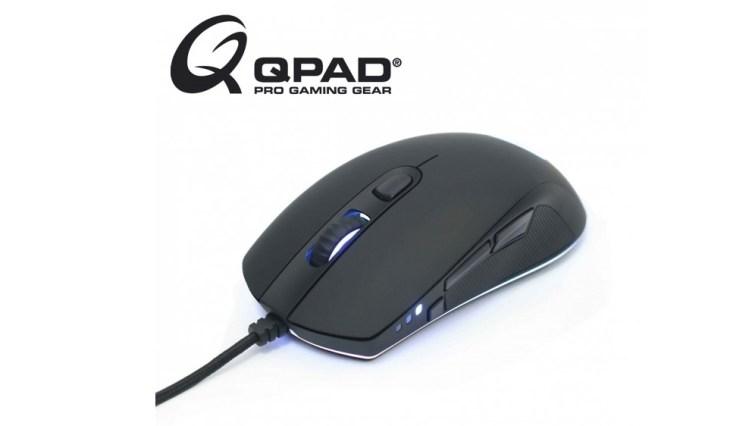 "QPAD、左サイドに第3のボタン""スナイパーボタン""を搭載した高性能ゲーミングマウス「QPAD DX-30」の国内取り扱いを開始"