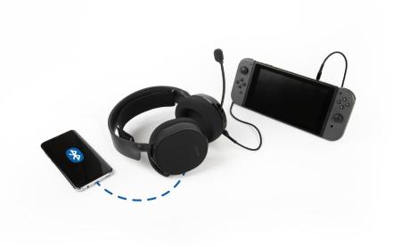 SteelSeries、Bluetoothとアナログ有線接続への両対応を実現した人気製品のアップグレードモデル「Arctis 3 Bluetooth 2019 Edition」発表。1月31日(木)より国内販売開始