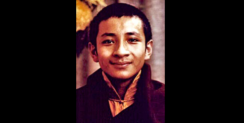 The 7th Dzongchen Ponlop Rinpoche as a young Lama300
