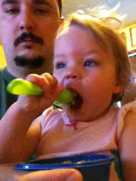 Give me the spoon daddy