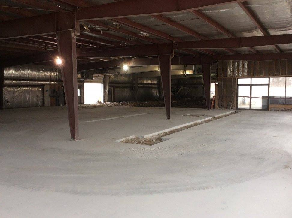 Demolition: Administrative offices space