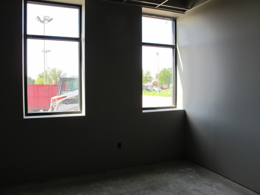 Lots of natural light coming in our shade taking room.