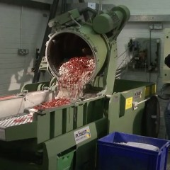 Rubber quality control - seal cleaning