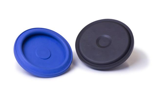 Fluorinated piston seals