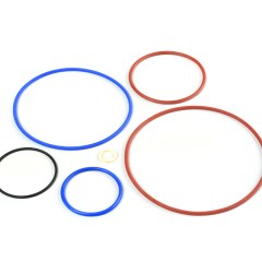 Aerospace rubber moulding - Flurosilicone O rings