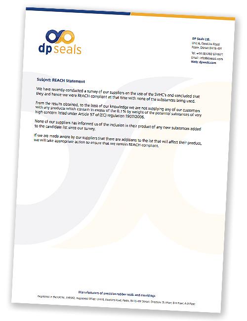 DP Seals REACH Policy